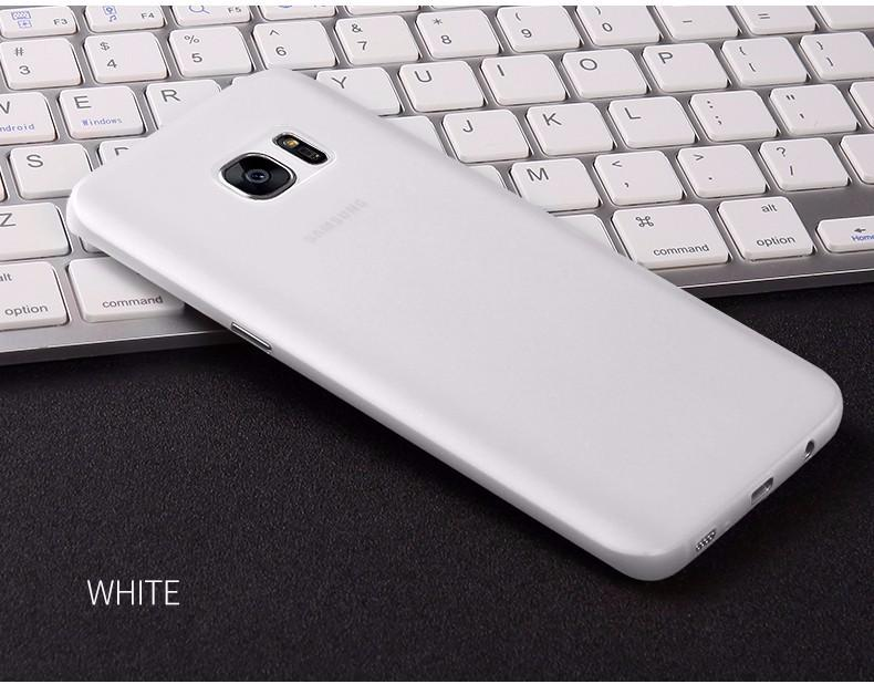 CAFELE ORIGINAL Case Samsung Galaxy S7 Edge Softcase Casing Back Cover Ultra Thin Tipis Matte Anti Fingerprint