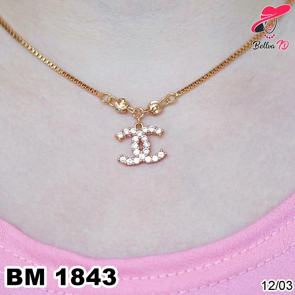 Kalung Xuping Chanel Gold M 1843