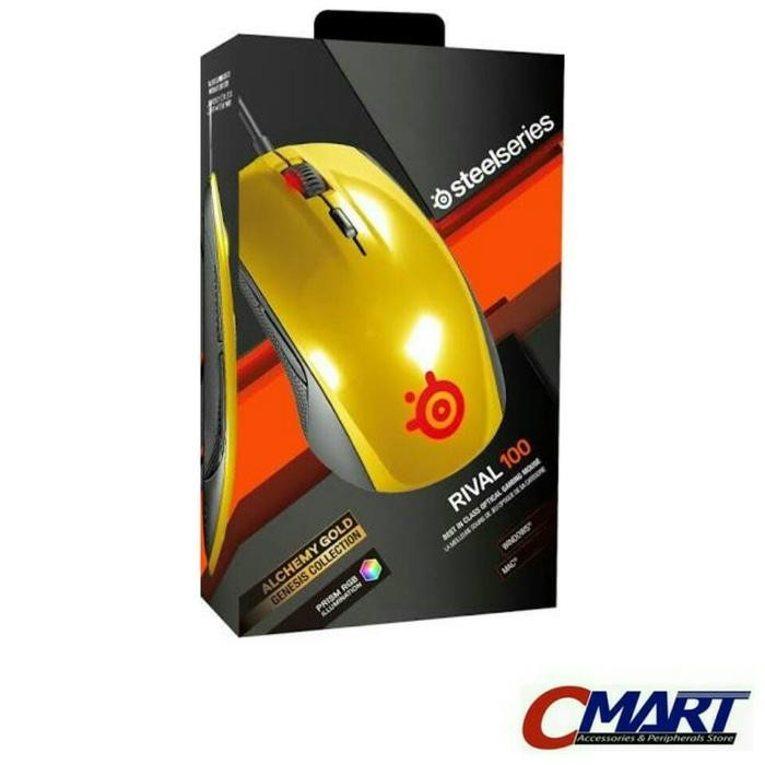 steelseries Rival 100 Alchemy Gold Gaming Mouse - 62336