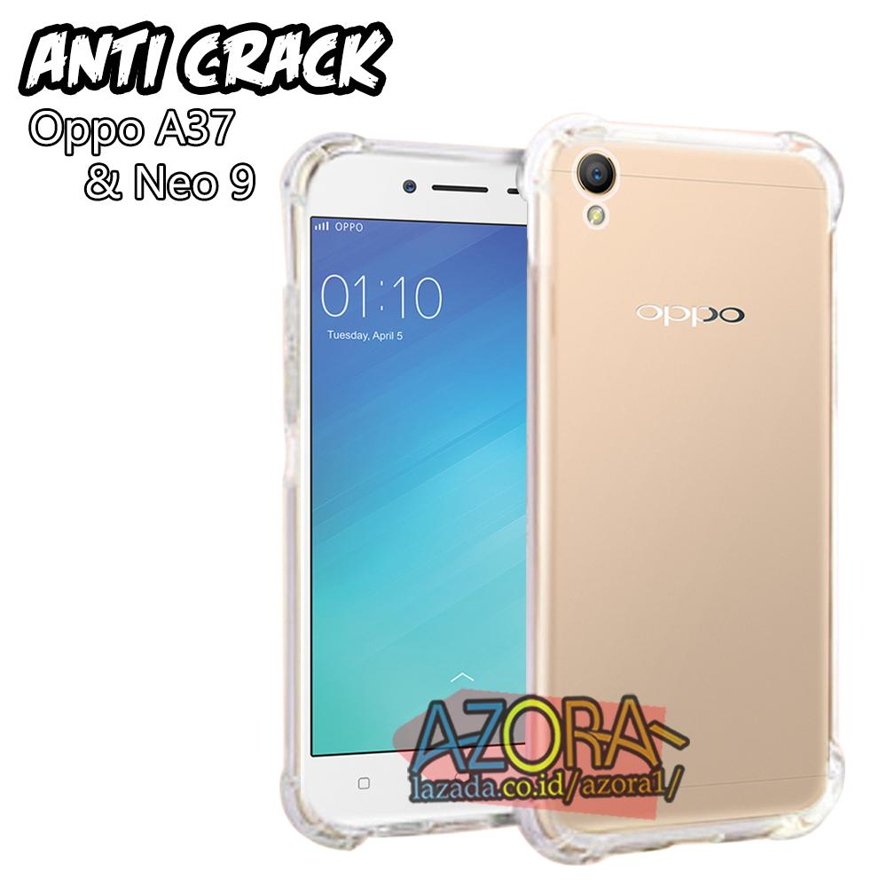 Case Anti Crack Oppo A37 / A37f / Neo 9 Ultra Thin Anti Shock Jelly Silikon