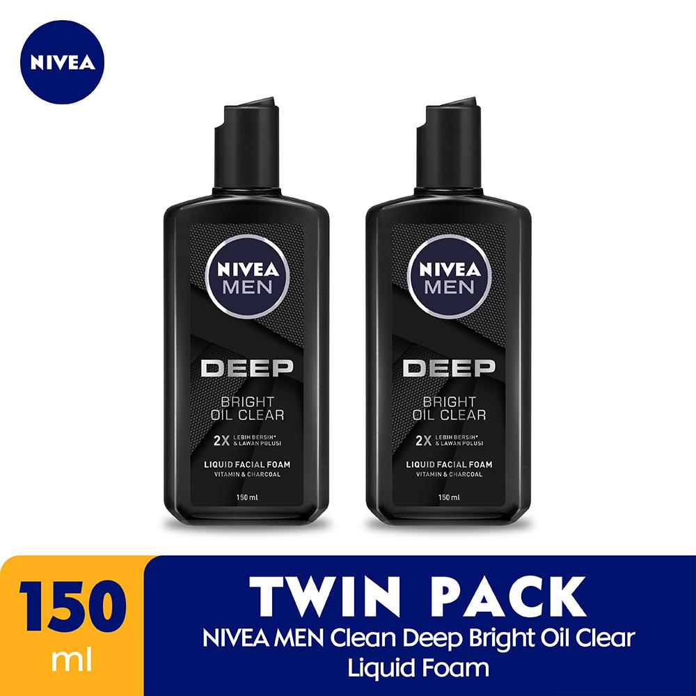 Buy Sell Cheapest Enzyme Clear Foam Best Quality Product Deals Kao Biore Facial Men S Double Scrub Cool Oil 100g Nivea Clean Deep Bright Liquid 150ml Twin Pack