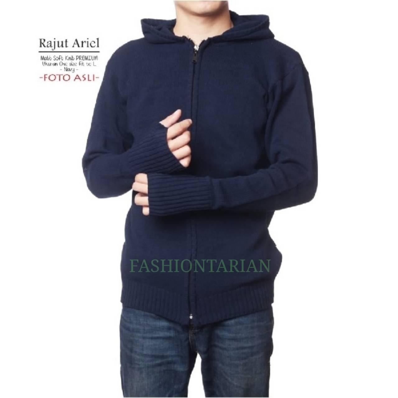Sweater Rajut Ariel Clasic Finger-UNISEX