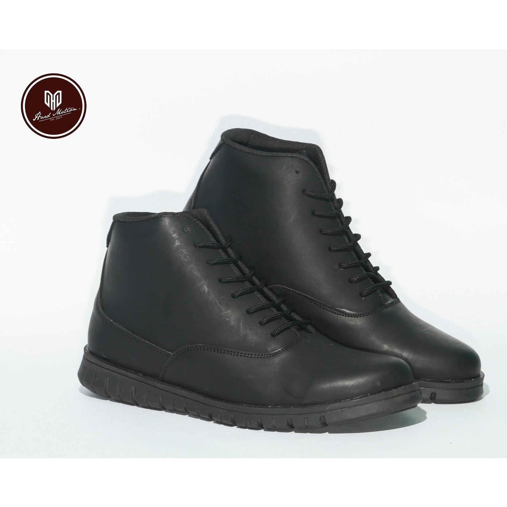 Beli Sepatu Boots Brodo Kulit Asli Pria Branded Best Seller Hard Maroon Ampamp Black Motion Stock Holm Harga Rp 289000