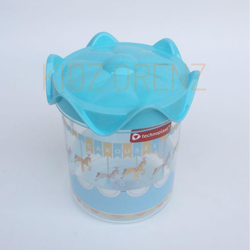 DAPUR CORNER Technoplast Toples Carousel Canister Jars Toples Cantik 1 Liter Grosir Toples Akrilik Unik