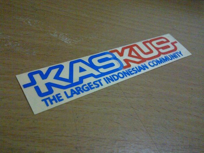 Limited Edition biker sticker kaskus standart