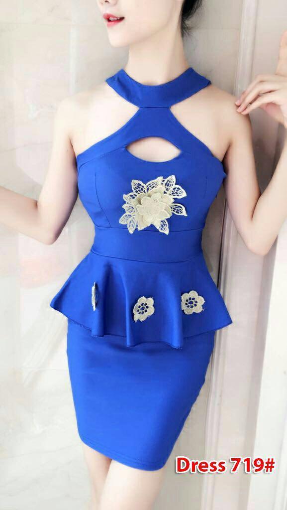 719# baju pesta import / baju seksi / baju pesta selutut / dress fashion import