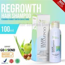 Green Angelica Hair Shampo Penumbuh rambut alami - Obat rambut botak & rontok 100% ORI