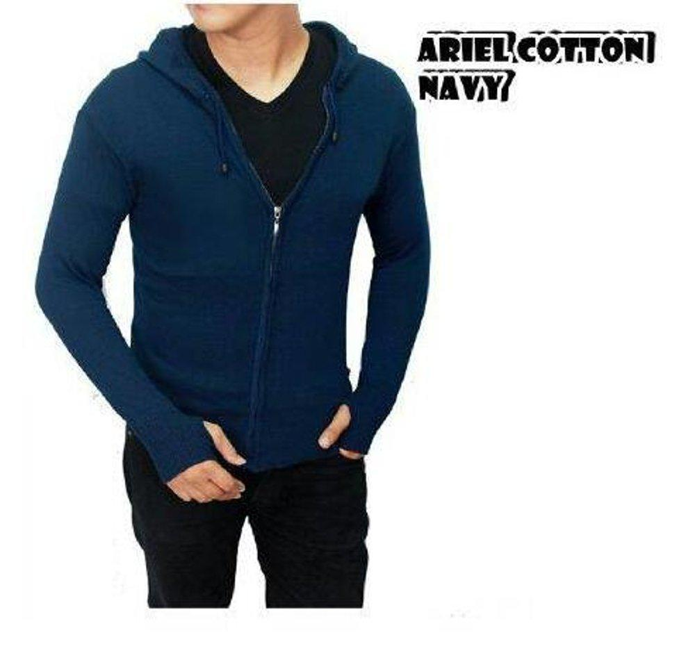 Ormano Jaket Kulit Ariel Artis Noah Aril Semi Pria Model Source Sweater Rajut Navu