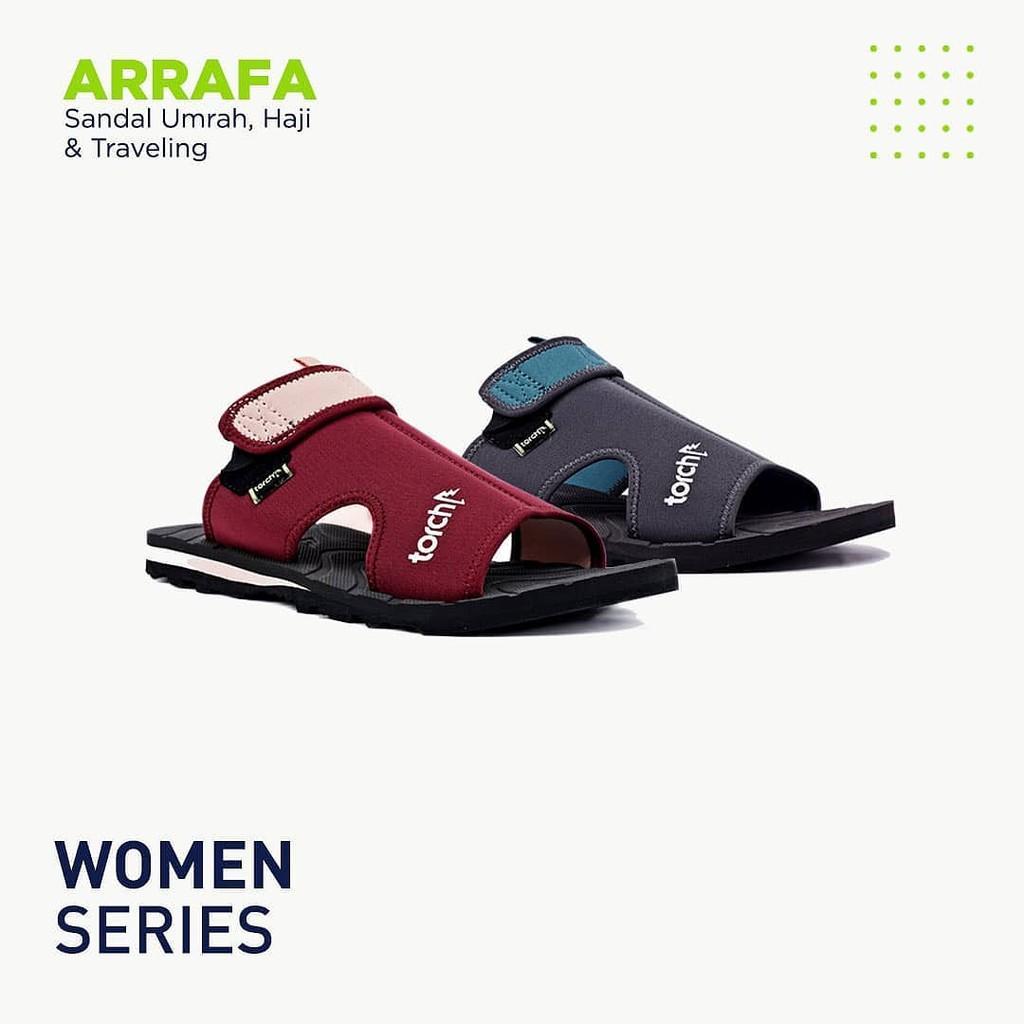 Sendal Umroh dan Haji Arrafa Women Torch /  Sandal Umrah dan Haji Wanita /