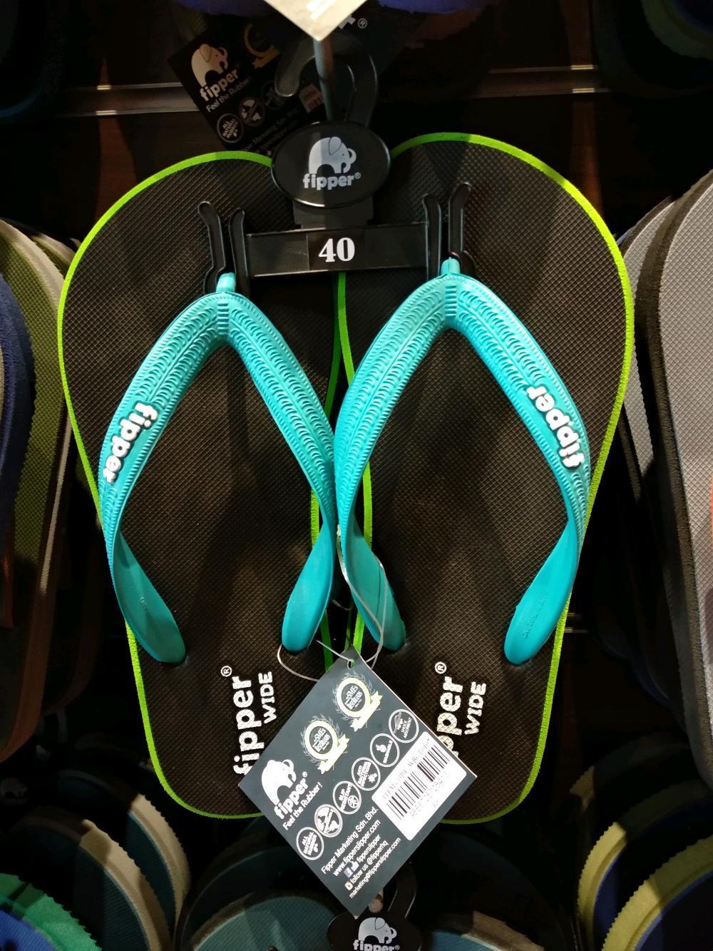 Sandal Cowok Fipper Wide