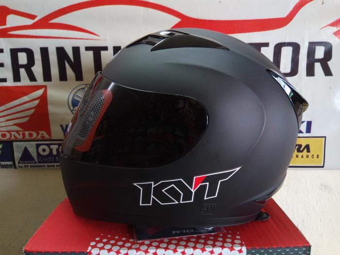 Helm KYT Fullface R 10 Black Doff