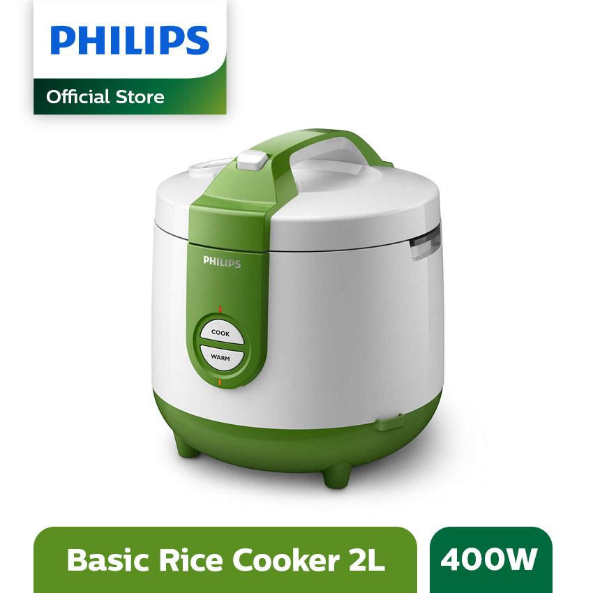 Philips Daily Collection Rice cooker HD3119/30 - 2L - Hijau