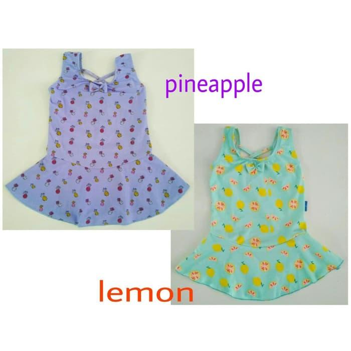ORIGINAL!!! Baju Renang Bayi Perempuan 1 - 2 Tahun - aWNRnM
