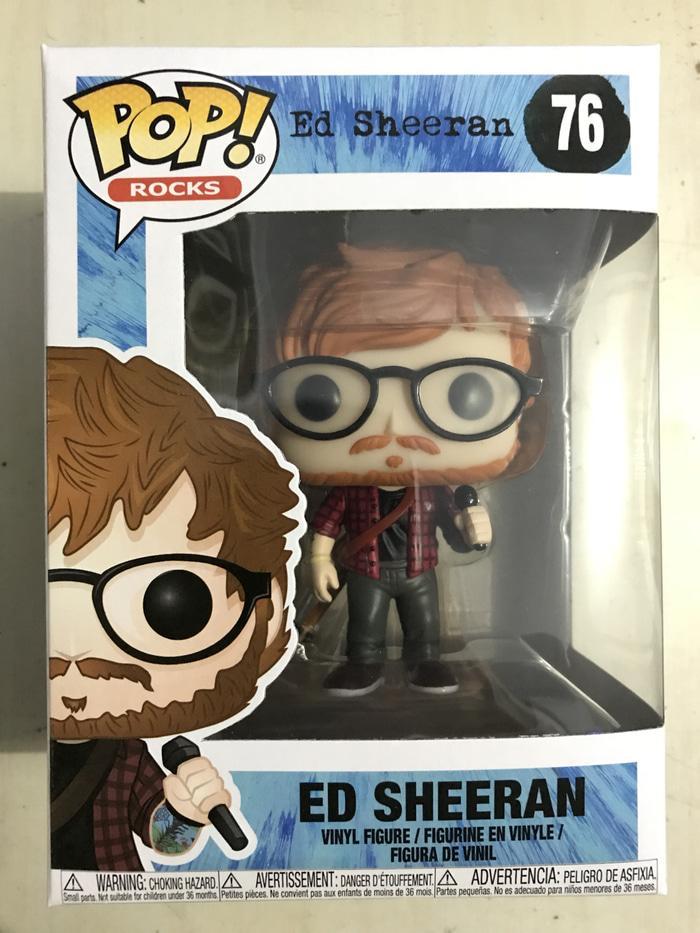 Hemat 10%!! Funko Pop! Rocks - Ed Sheeran (Divide Album)