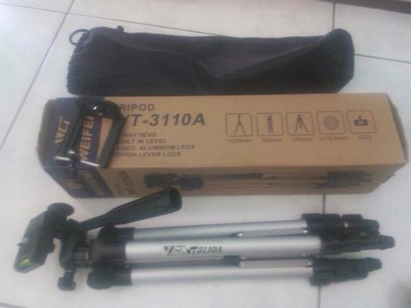 Promo TRIPOD Weifeng WT3110A Untuk Camdig,Handycam,DSLR dan Hp + Holder U original