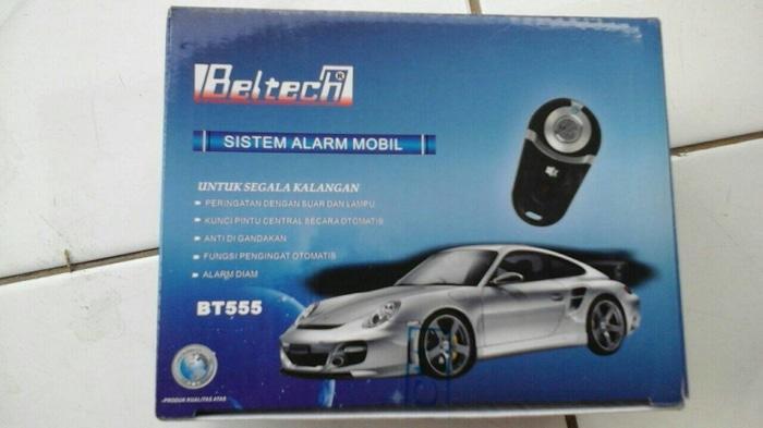 Alarm Beltech model remote avanza