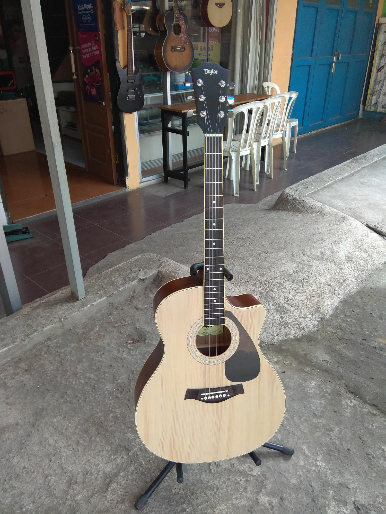Promo Gitar Taylor Semi Elektrik