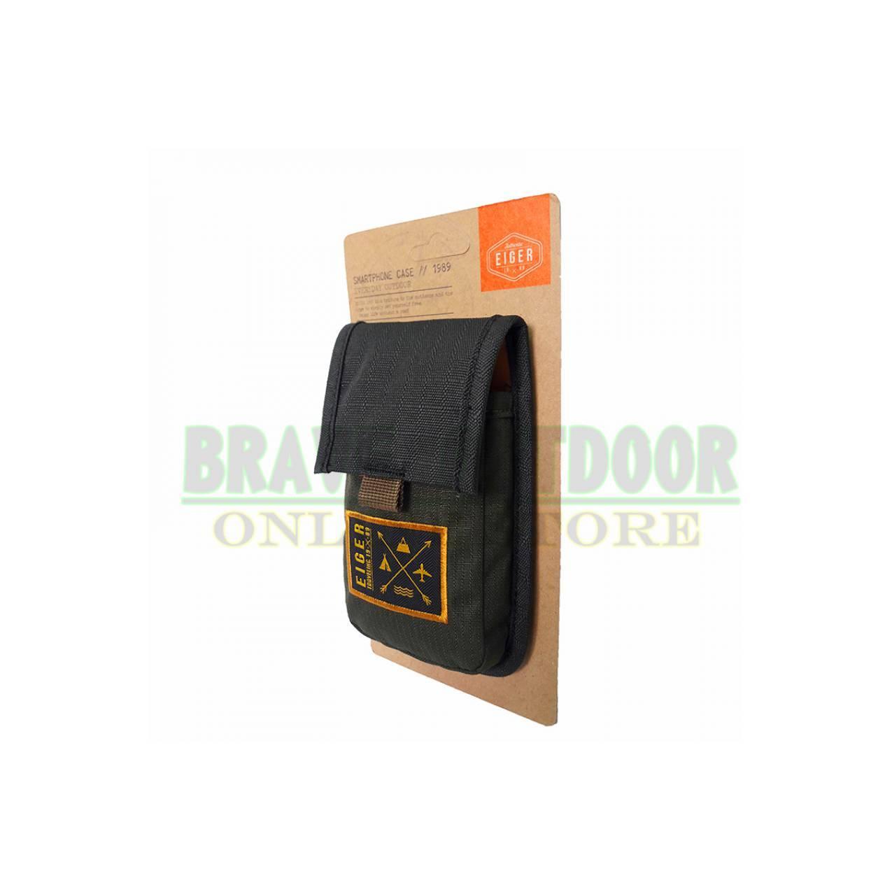 Tas Pinggang Hp / Dompet Handphone - Eiger 0129 Black Green