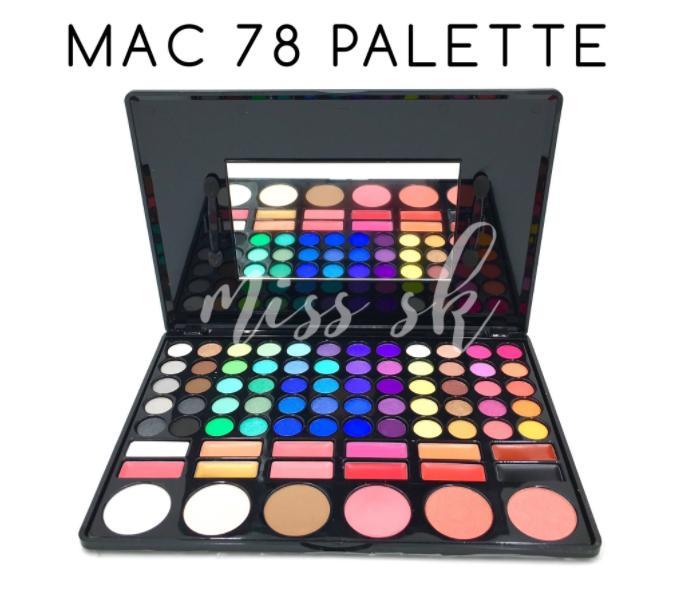 PROMO Makeup Set MAC Palette 78 Full Colour / Kosmetik Premium Quality TERLARIS