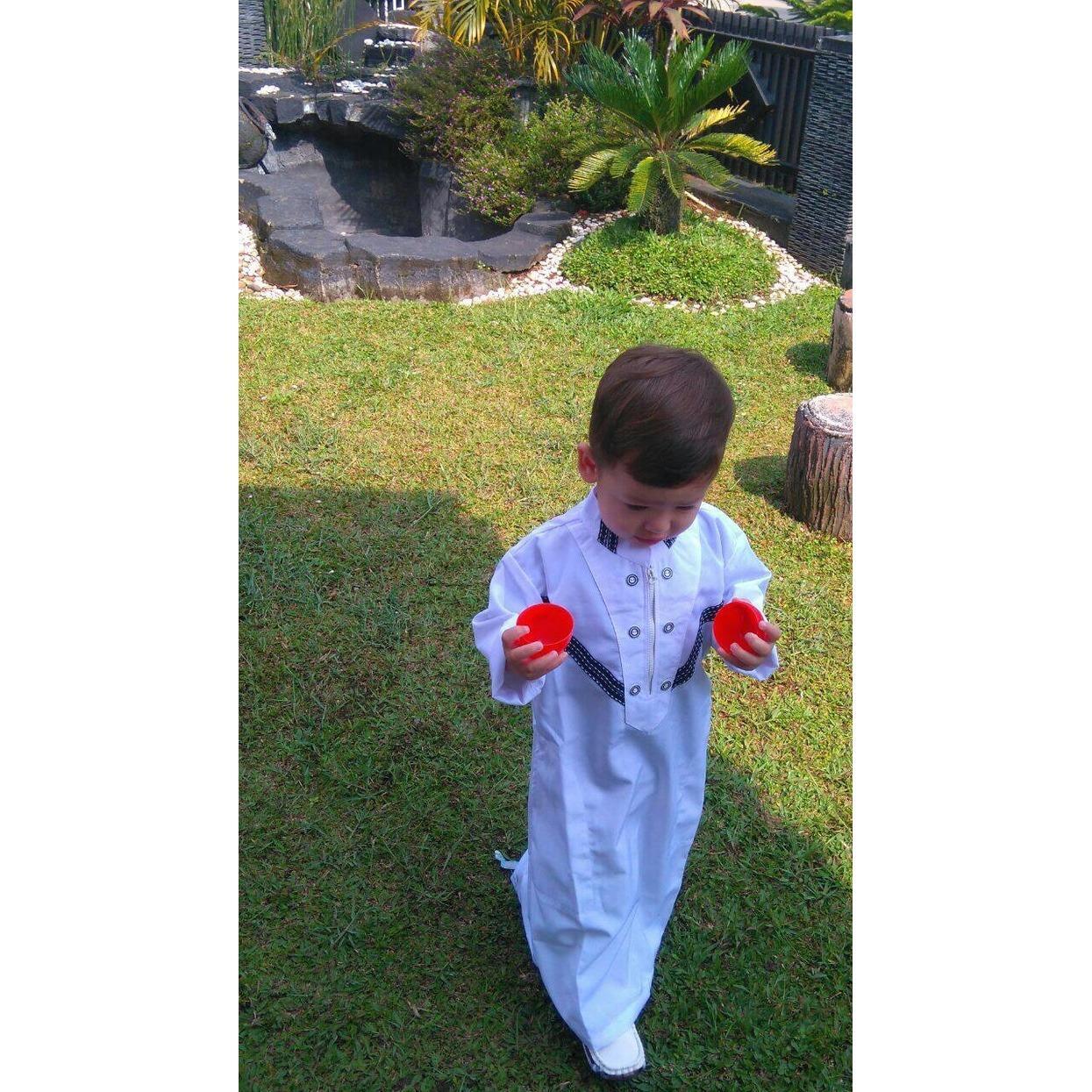koko anak gamis anak pria laki laki baju muslim