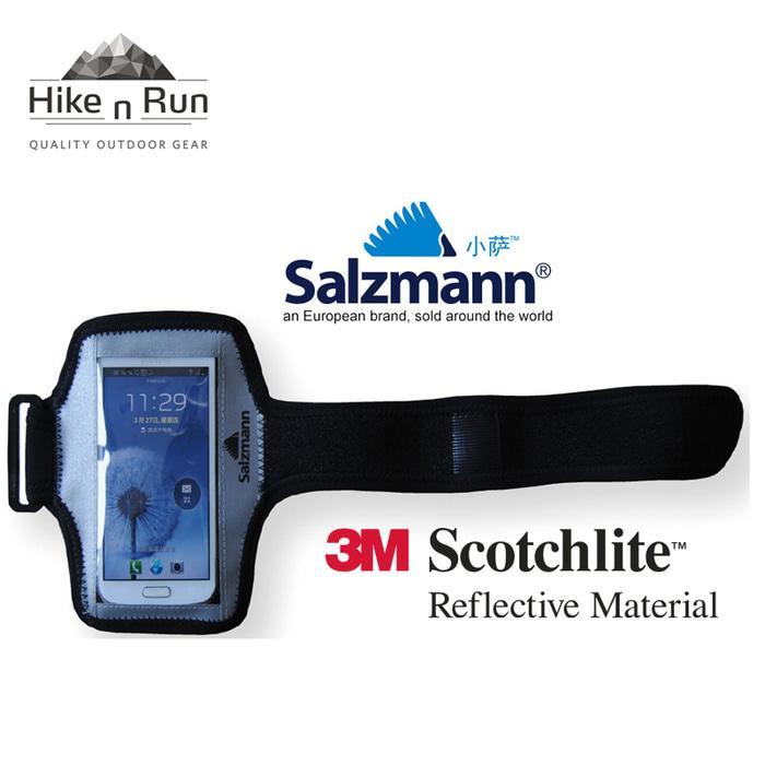 Salzmann 3m Reflektif Running Cycling Smartphone Holder Kantong Hp 70019 By Hike N Run.