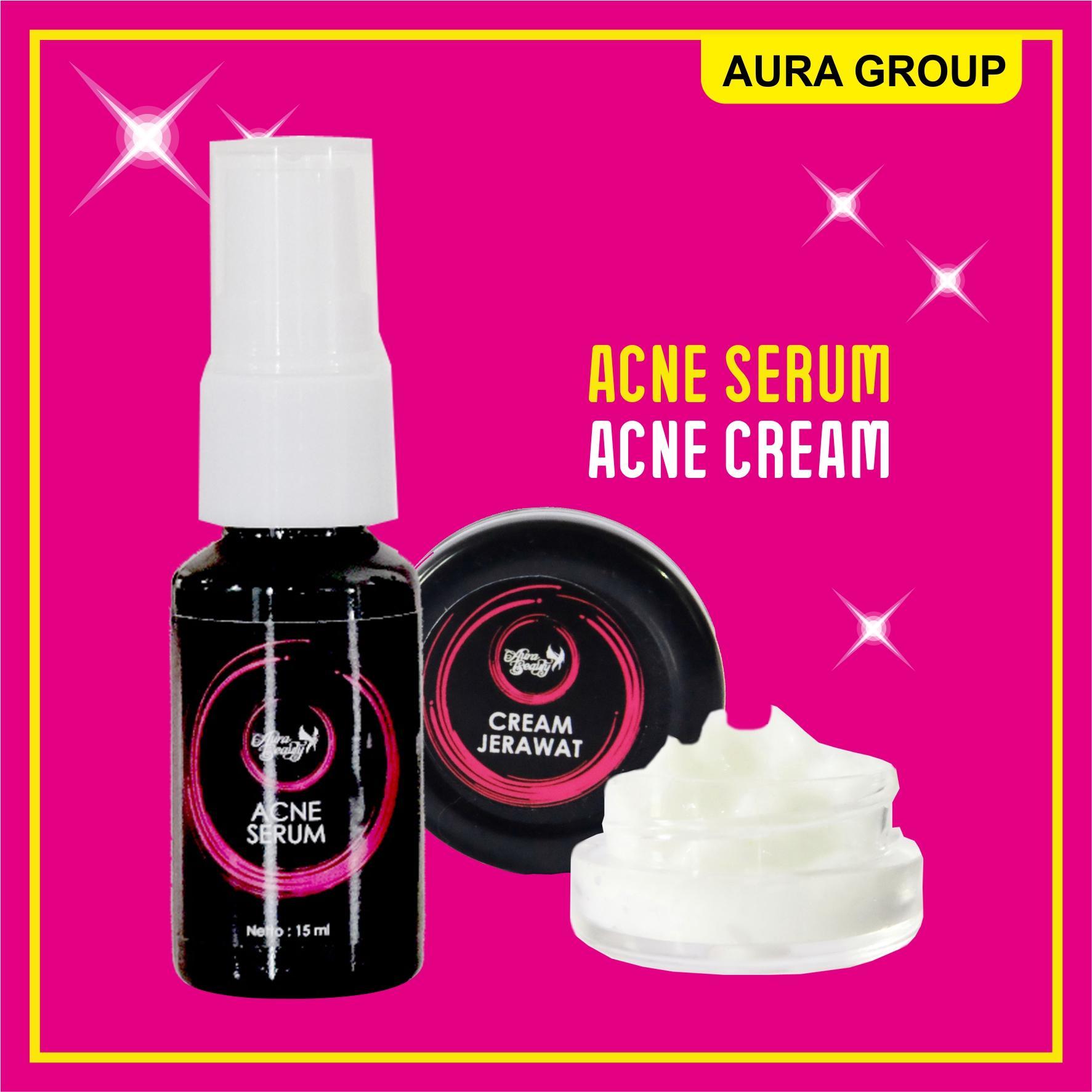 Aura Beauty - Serum Jerawat dan Krim Jerawat Terbaik 5 gram Ampuh Menghilangkan Jerawat
