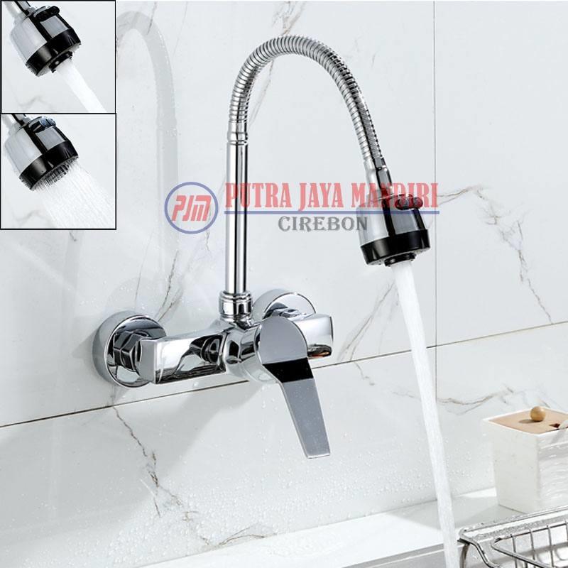 Flexible Sink Tap Kitchen / Kran Angsa Bak Cuci Piring Fleksibel 2 mode