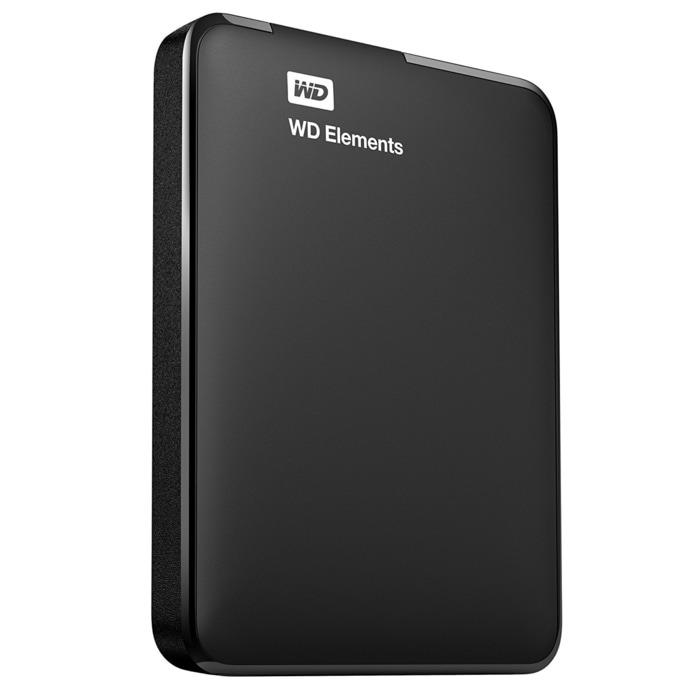 WD Element 1TB - HDD / HD / Hardisk / Harddrive External USB 3.0 / Elements