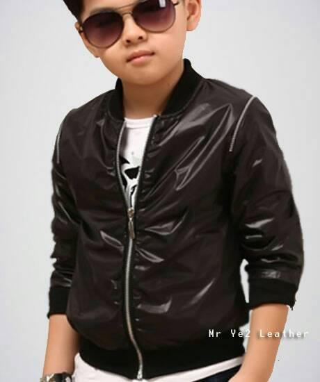 Promo Jaket Semi Kulit Anak Trendy Terlaris Fashion