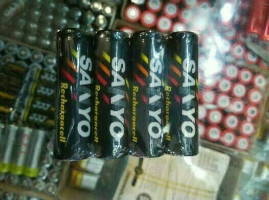 baterai aa charger sanyo