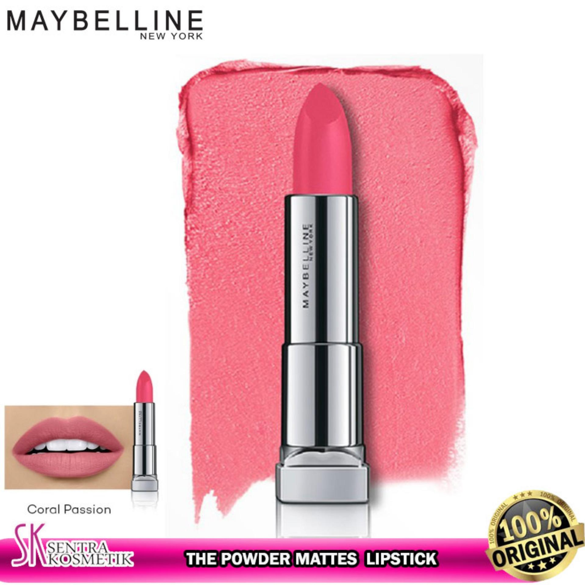 MAYBELLINE Color Sensational The Powder Mattes Lipstick - CORAL PASSION