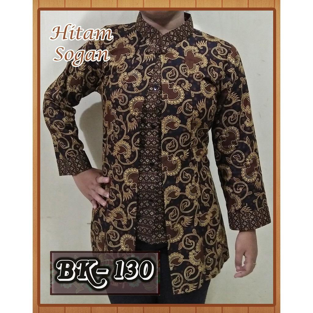 Blouse Batik Atasan Wanita Batik Kerja Modern Baju Kemeja Wanita Murah