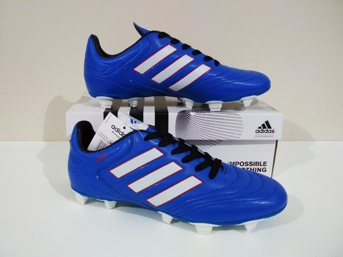PAKETAN HEMAT BERKUALITAS!! Sepatu Bola X Adizero FG (Blue White) - Sepatu Bola Pria - Sepatu Bola Keren