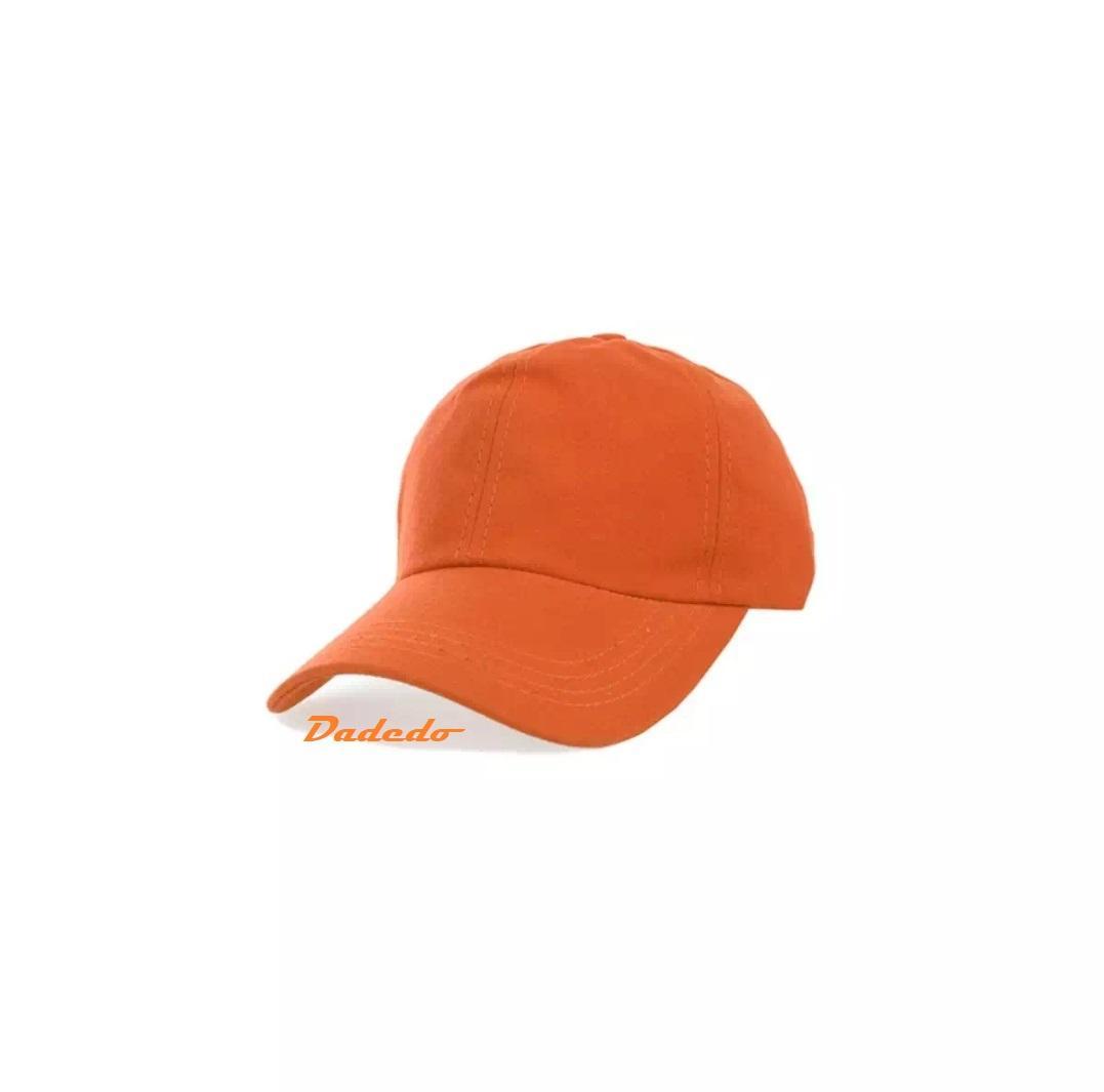 Topi polos bassball cap pria wanita warna OREN  topi polos   topi pria   2f4313bbaf