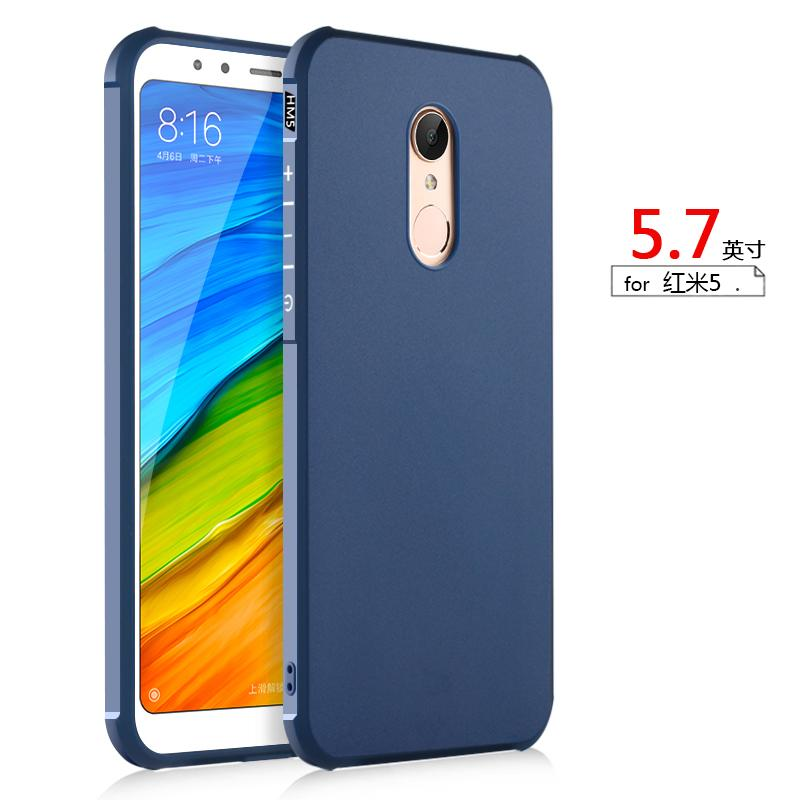 Casing HP Xiaomi Red Mi Sampul Lunak 5 Plus Meter Lima