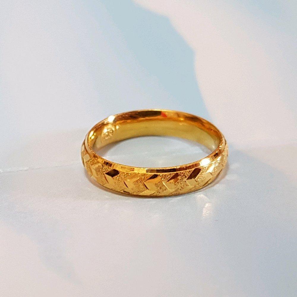 Pilihan Yang Pas Buat Remaja Simple Minimalis Size 9 Cincin Bangkok Zigzag Kadar 700 Perhiasan Wanita
