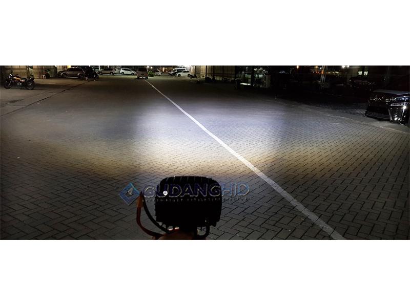 Lampu Tembak Sorot LED Cree 30W Laser Gun Tube Daymaker Fog Light