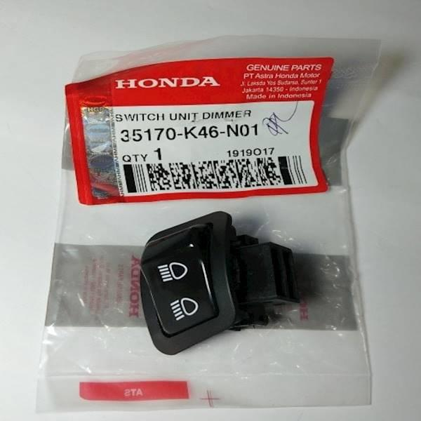 Saklar & Tombol Dimmer Vario 110 Led Original Honda K46