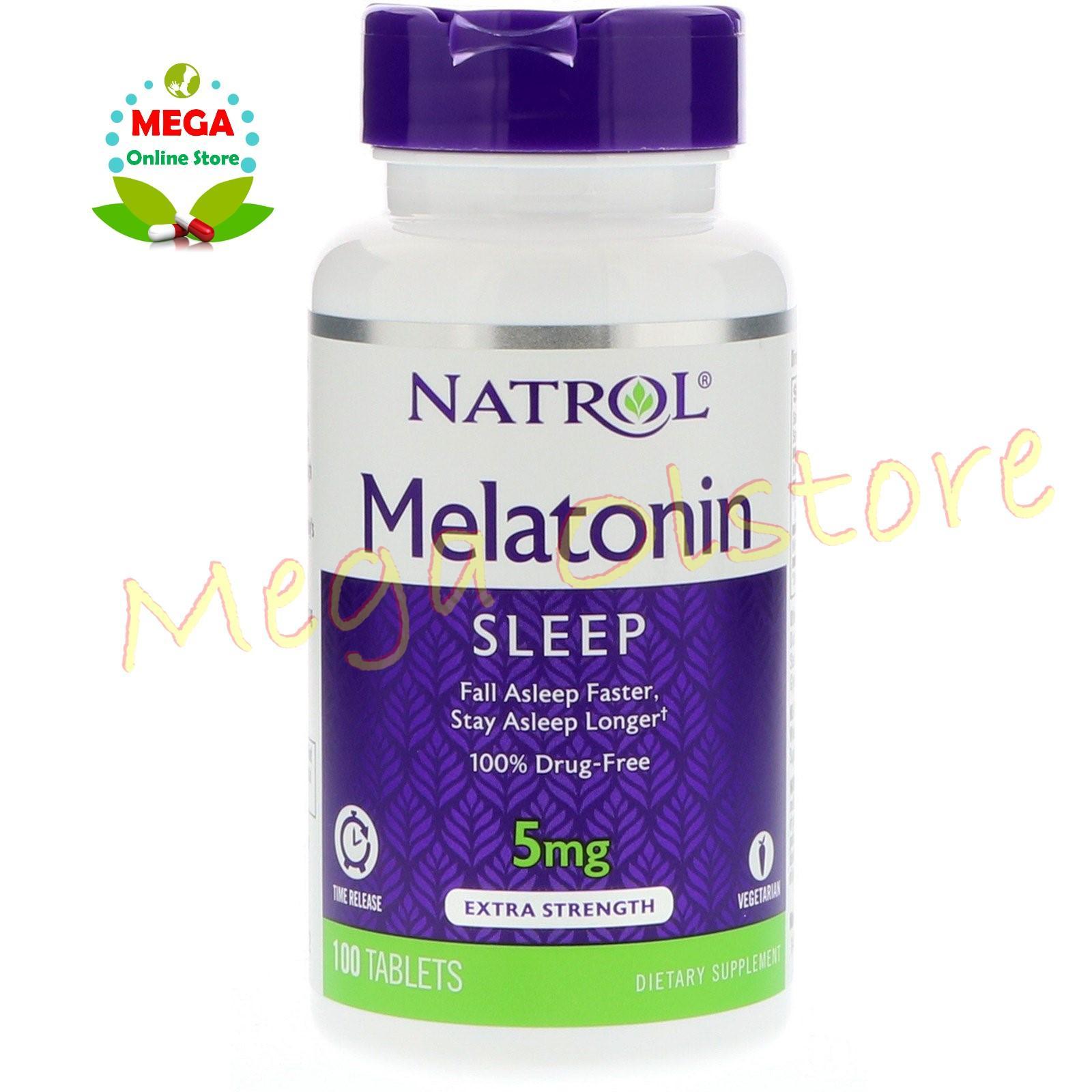 Obat Stress Anti Depresi Bio Mega Kaplet 1 Strip Isi 10 Natrol Melatonin Tr Time Release 5 Mg 100 Tablet