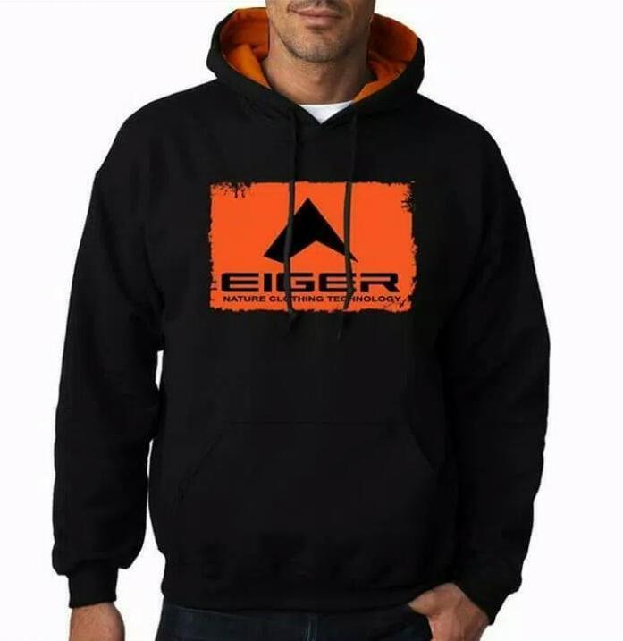 Jaket Hoodie Sweater Jumper Zipper Eiger Adventure