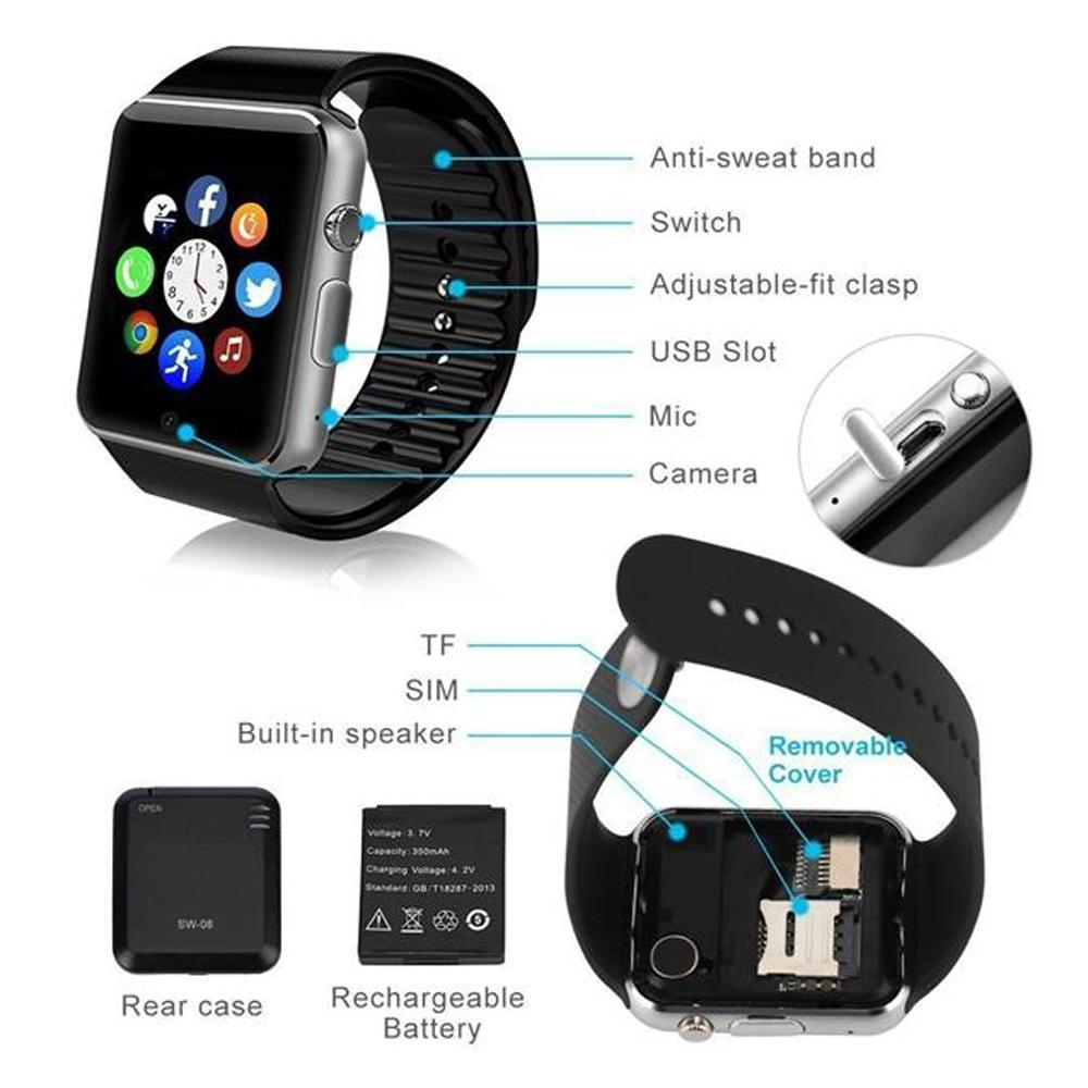 Smart Watch Jam Tangan Android A1 U10