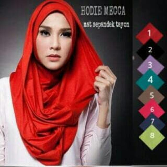 hijab jilbab kerudung instan LONG HOODY MECCA/LONG HANA