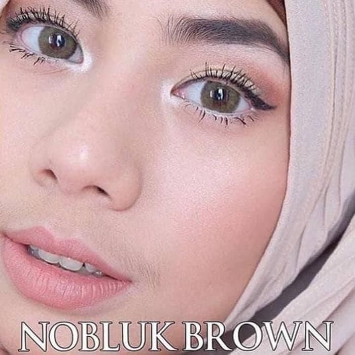 Promo - ORIGINAL Softlens Nobluk Brown (Coklat) Original