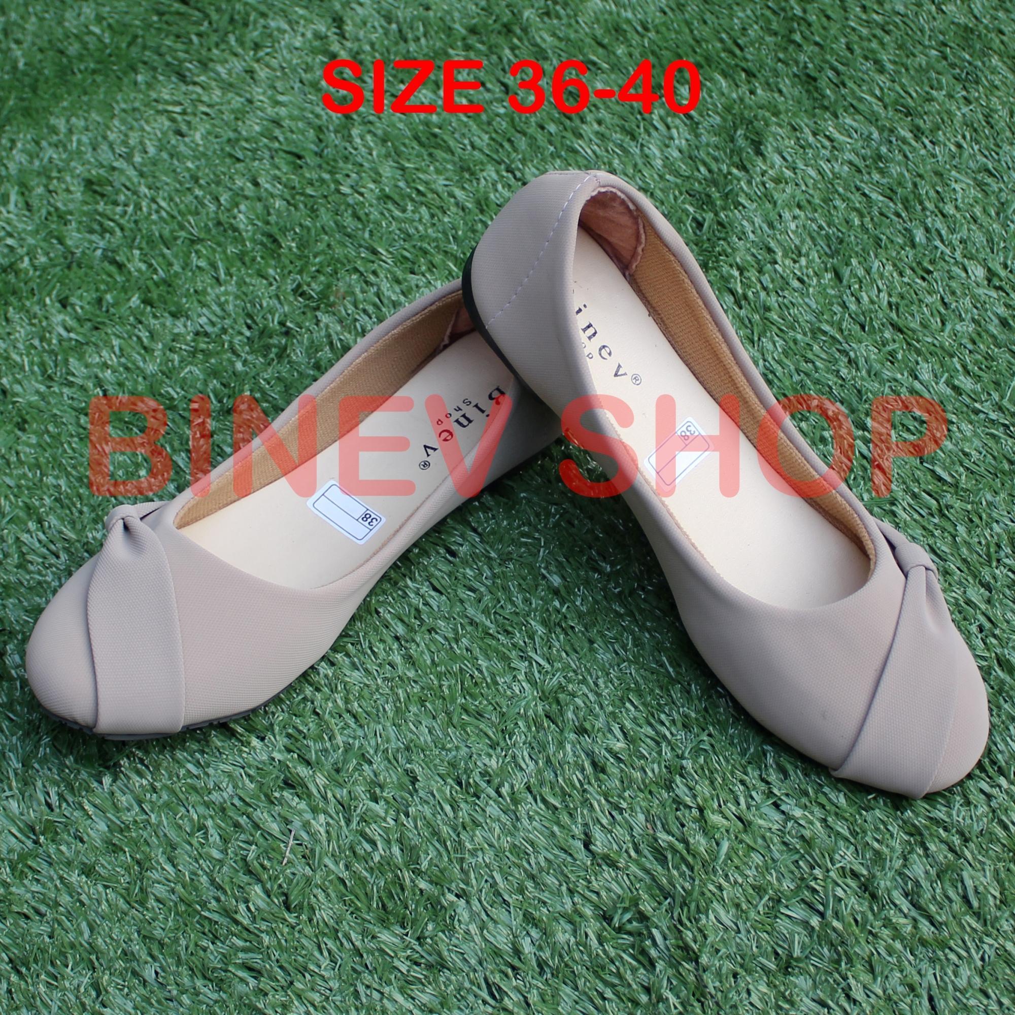 Binev Sepatu Slip On Wanita B-053 PITA SAMPING 01 d0dd74edde