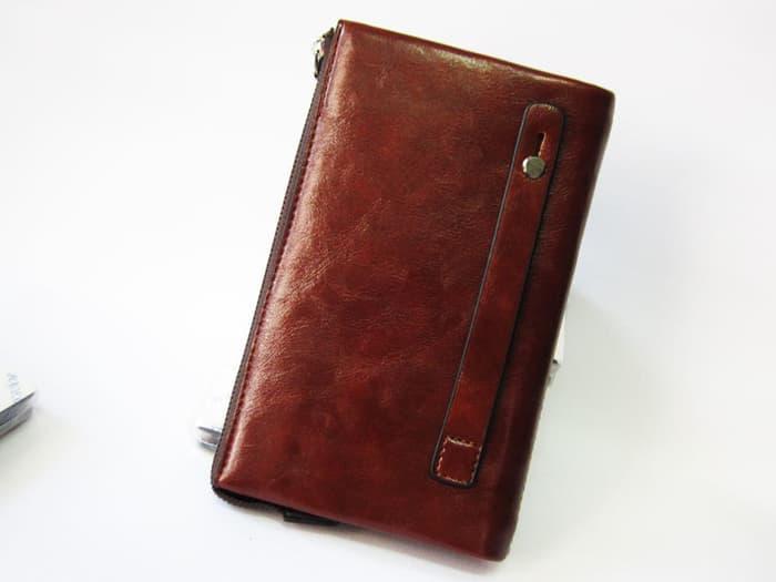 Dompet Handbag Pria wanita Paspor kulit IMport HP android Terkini