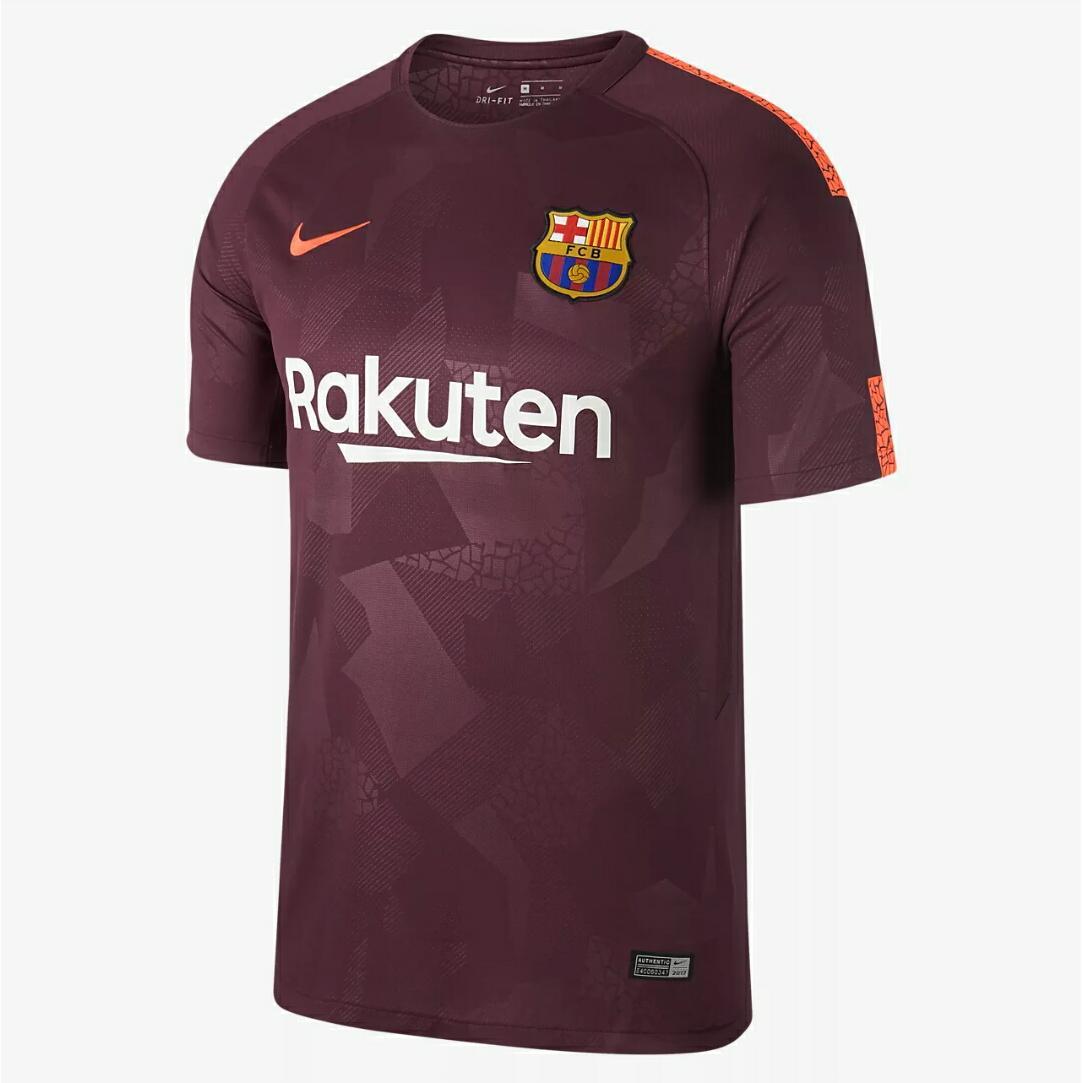 Jersey Bola Barcelona Home / Away / Third 3rd 2017 - 2018