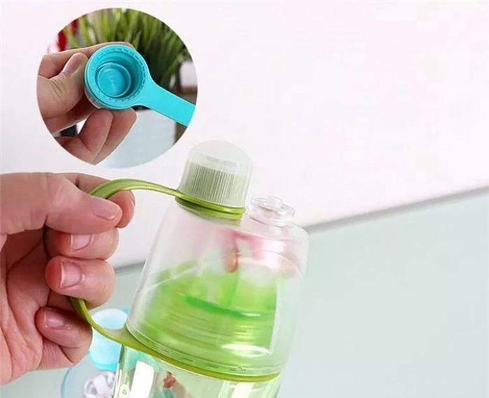 Botol Minum Semprot - Spray Water Bottle Portable 600 ml - QtqrSba