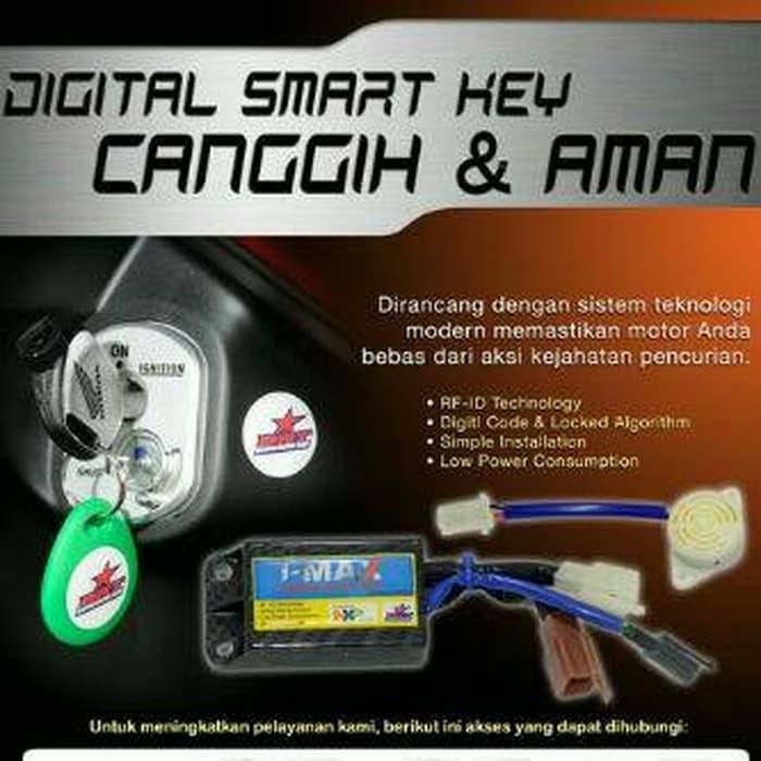 BEST SELLER!!! BRT Smart Key Untuk Yamaha NMAX,  XEON, Jupiter Z1 - 3173l1