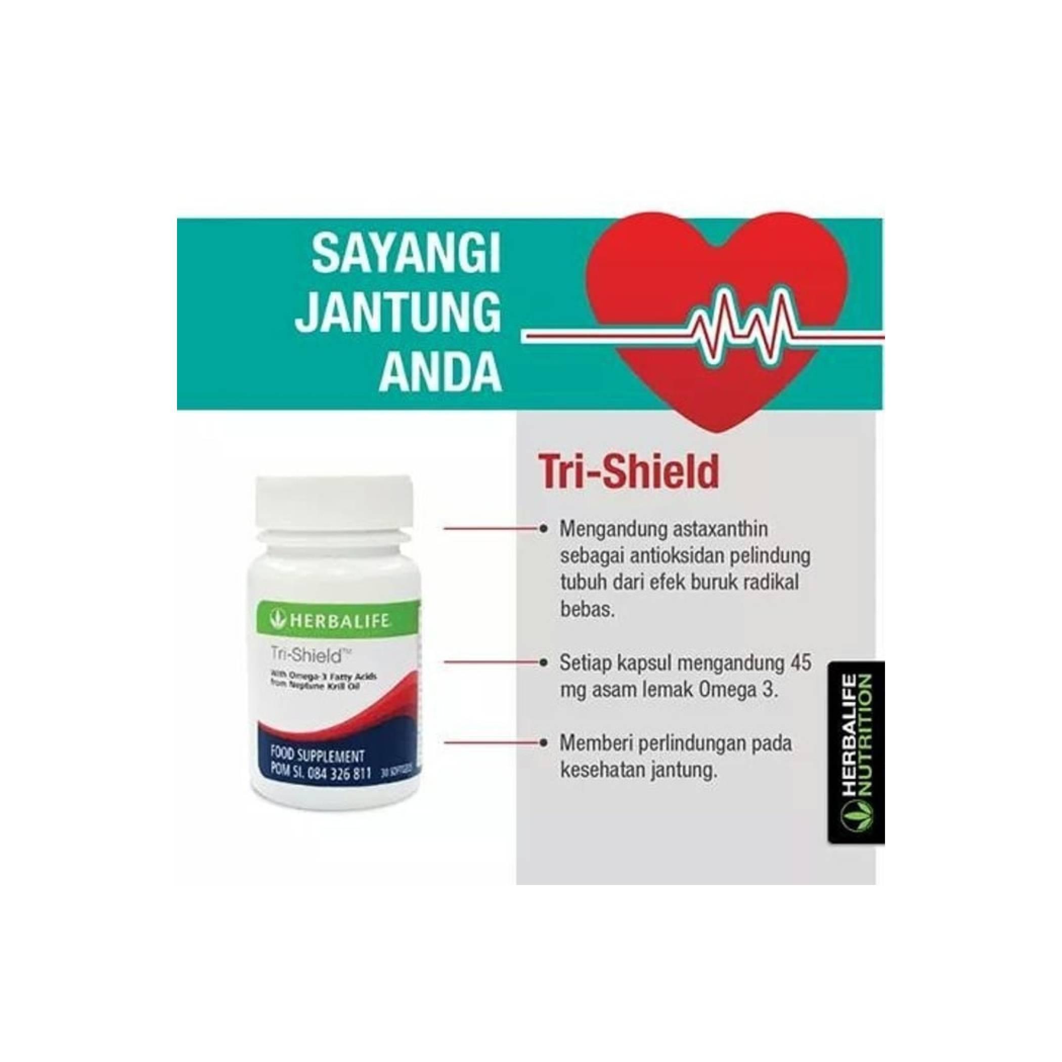 Tri-Shield Herballife   Suplemen Kesehatan Jantung   Neptune Oil (NKO)