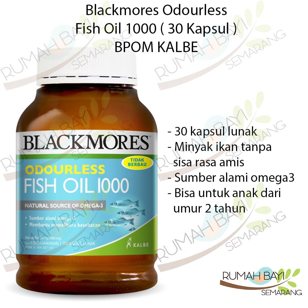 Buy Sell Cheapest Blackmores Odourless Fish Best Quality Product Omega Triple Concentrated Oil Anti Inflammatory 150 Kapsul Vanilla 1000 30 Bpom Kalbe